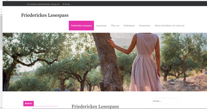 friederickes lesespass